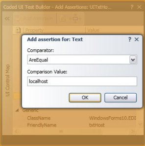 Add Assertion for Text